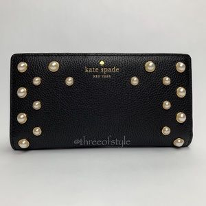 Kate Spade Stacy Serrano Place Pearl Wallet